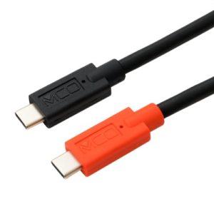(画像)ミヨシ MCO USB Type-C – Type-Cケーブル USB PD対応 : e Marker内蔵 [UPD-2]