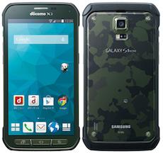 (画像)GALAXY S5 Active