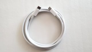 【USB PD対応】MacBook同梱ケーブル「Apple USB-C充電ケーブル」レビュー